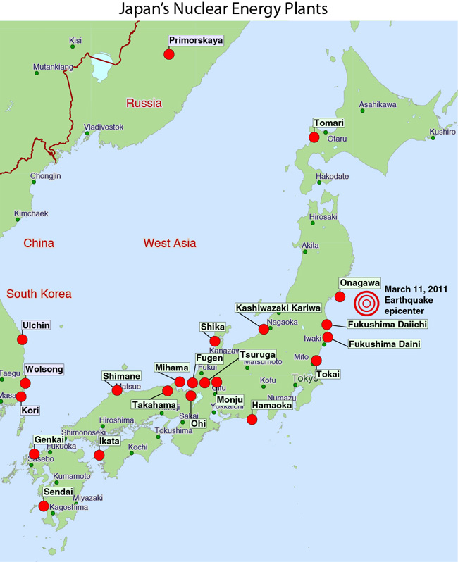 map of japan earthquake today. Filed under Japan Earthquake